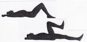 Meringankan nyeri pinggang bawah dengan otot-otot abdomen bawah anda dan otot bokong